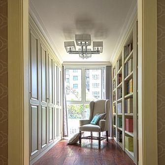 140平米四室一厅法式风格书房效果图