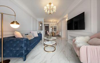 100平米三室两厅法式风格客厅图