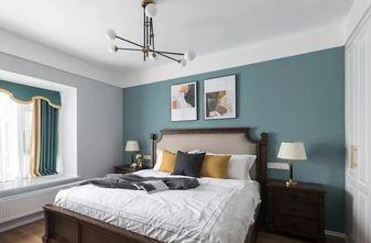 130平米四室两厅美式风格卧室欣赏图