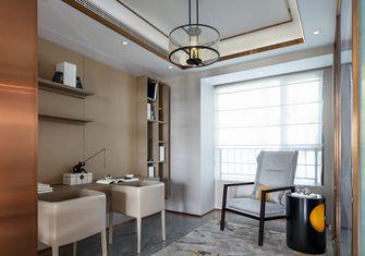 110平米三室三厅中式风格书房装修效果图
