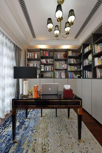 140平米三室两厅地中海风格书房欣赏图