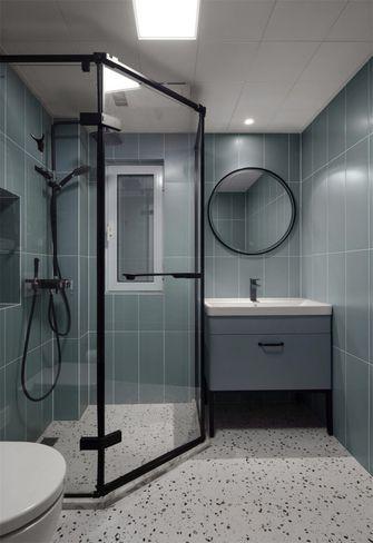 80平米混搭风格卫生间装修案例