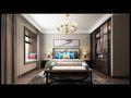 140平米三室两厅中式风格卧室装修图片大全