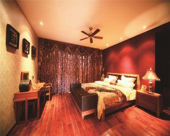140平米四东南亚风格卧室装修图片大全