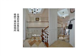 10-15万140平米三室两厅美式风格楼梯装修图片大全