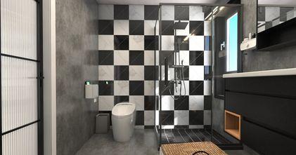 80平米一居室现代简约风格卫生间图片