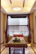 110平米三室一厅东南亚风格阳光房装修案例