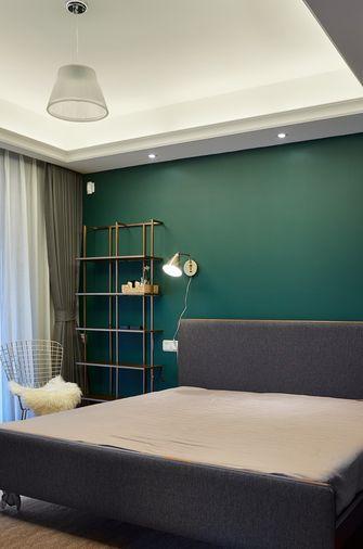 60平米一居室混搭风格卧室图片
