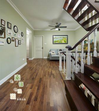 豪华型140平米复式田园风格楼梯间欣赏图