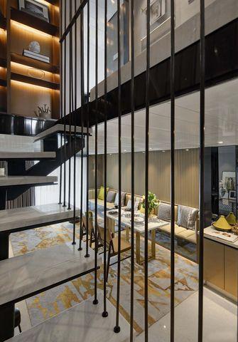 80平米复式现代简约风格楼梯间欣赏图