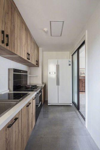 120平米三室两厅北欧风格厨房橱柜装修图片大全