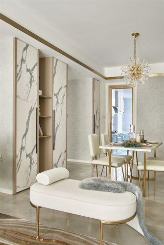 130平米三室两厅法式风格餐厅图片大全