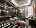 别墅现代简约风格装修效果图