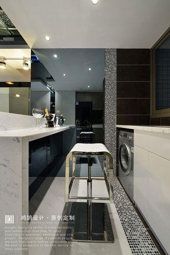 富裕型100平米现代简约风格厨房图片大全