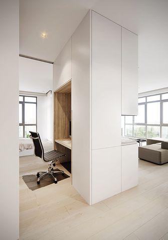 50平米公寓现代简约风格书房设计图