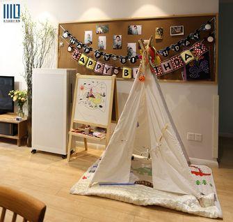 90平米一居室英伦风格儿童房欣赏图
