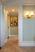 140平米四室两厅田园风格走廊图片大全