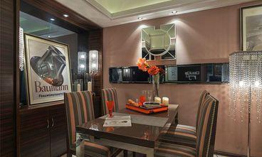 90平米三室一厅混搭风格餐厅图