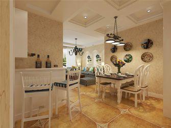 富裕型100平米一室一厅田园风格餐厅装修案例