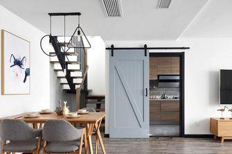 90平米复式北欧风格餐厅家具图片大全