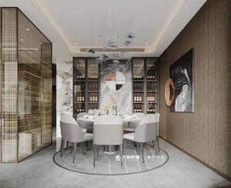 豪华型140平米别墅现代简约风格餐厅装修案例