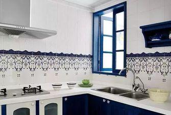 80平米一室两厅地中海风格厨房图片