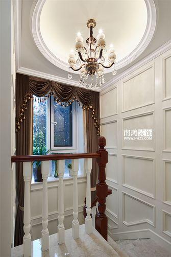 富裕型140平米四室两厅欧式风格楼梯图片大全