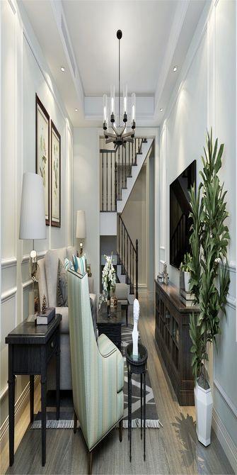 80平米复式美式风格楼梯间装修案例