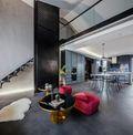 140平米复式东南亚风格客厅设计图