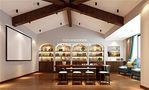 140平米复式美式风格阁楼效果图