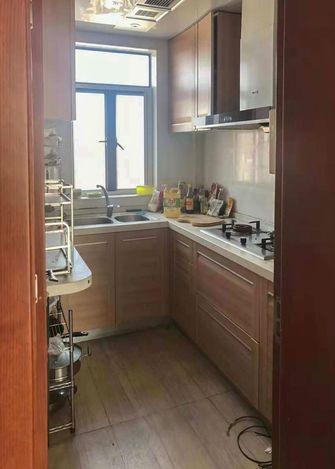 70平米公寓中式风格厨房设计图