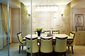 120平米三室三厅新古典风格餐厅图片