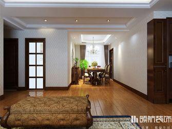 130平米四室两厅新古典风格餐厅设计图