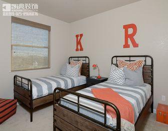140平米三室四厅美式风格儿童房图片