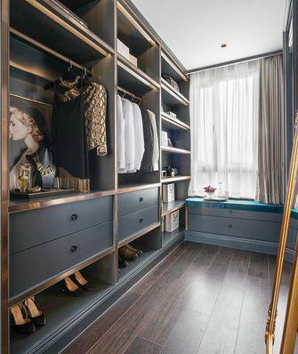 120平米三室一厅混搭风格衣帽间装修案例