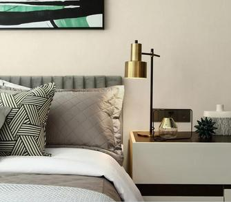 豪华型100平米复式现代简约风格卧室效果图
