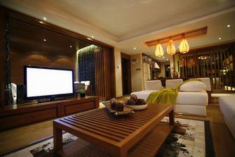 富裕型140平米四室三厅东南亚风格客厅图