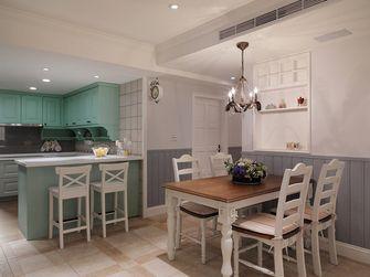 110平米三室两厅田园风格厨房图片大全