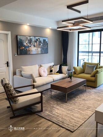 20万以上60平米三室一厅现代简约风格客厅欣赏图