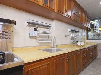 富裕型90平米三室一厅英伦风格厨房装修案例