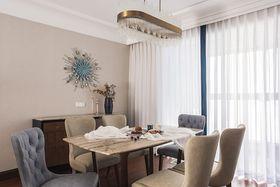 90平米歐式風格餐廳裝修案例