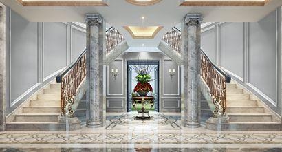 20万以上140平米别墅法式风格楼梯欣赏图