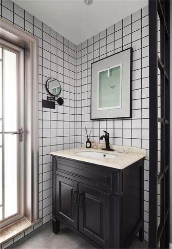 90平米三现代简约风格卫生间图片