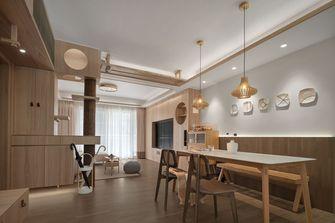 100平米三室两厅日式风格餐厅效果图