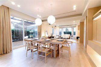 富裕型140平米三室两厅地中海风格餐厅图