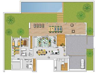 90平米现代简约风格其他区域设计图