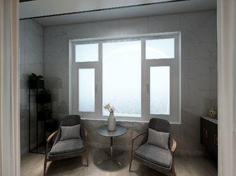 120平米三室两厅混搭风格阳台设计图