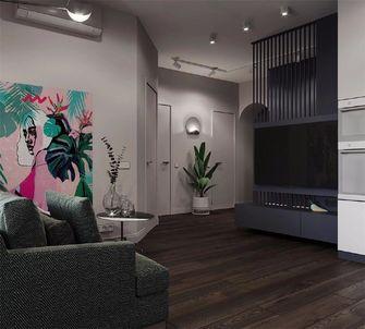 60平米公寓新古典风格玄关欣赏图