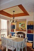 三房地中海风格装修案例
