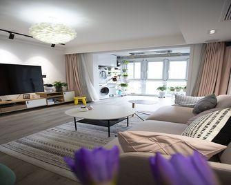 70平米公寓宜家风格客厅效果图